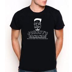Johnny's Bananas Entourage TV Drama Custom Black T-Shirt Tee Size XS-XXL