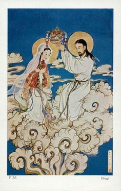 .The Coronation of the Blessed Virgin (Japanese)