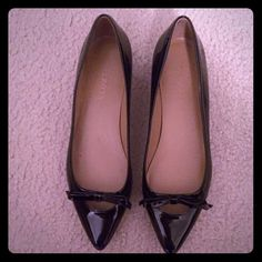 Talbots Patent Leather Flats SIZE 9 Slight heel and very comfortable. Never worn :) My sister bought an extra pair and they're unfortunately too big for me. Talbots Shoes Flats & Loafers