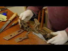 Watch as Frank Strazza shows you the ins and outs of using a hand plane, one of hand tool woodworking's basic tools. Part of the Heritage School of Woodworki...