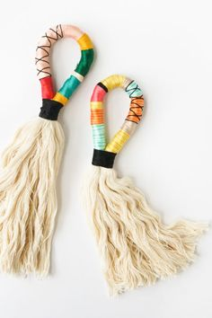 Colorful DIY Door Handle Tassels