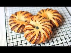 ▶ How to Make Nutella Chocolate Star Bread - Christmas Treat - YouTube