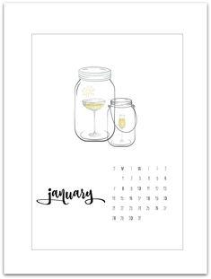Free Calendar Page P