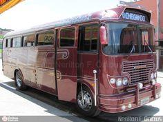 Ônibus da empresa Motorhomes, carro 0385, carroceria Ciferal Cisne, chassi Mercedes-Benz LP-321/1964