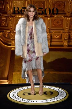 Christine Centenera attends the Cocktail Event as part of the Paris Fashion Week Womenswear Spring/Summer 2017 at Hotel de Ville on October 2016 in Paris, France. Fur Fashion, Fashion Editor, Editorial Fashion, Fashion News, Paris Fashion, High Fashion, Vogue Australia, Christine Centenera, Layering Outfits