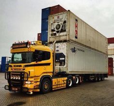 SCANIA container trnsport