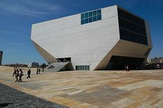 Casa da Música (English: House of Music) is a major concert hall space in Porto, Portugal which houses the cultural institution of the same name with its three orchestras Orquestra Nacional do Porto, Orquestra Barroca and Remix Ensemble. It was designed by the Dutch architect Rem Koolhaas with Office for Metropolitan Architecture and Arup-AFA