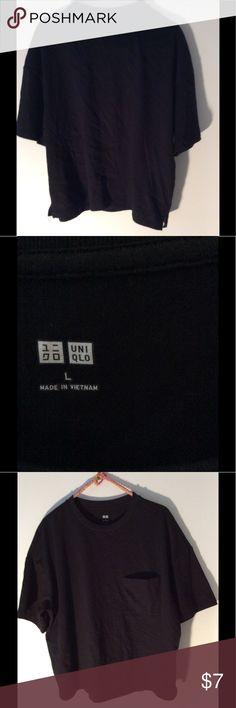Tshirt Hits just below mid waist 100% cotton Uniqlo Tops Tees - Short Sleeve