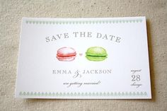 A cute idea, particularly if macarons are on your mind!