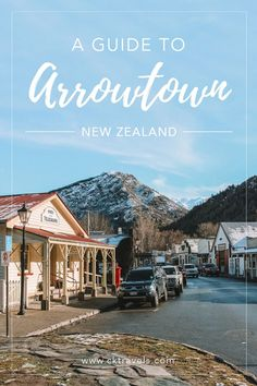 A Guide to Arrowtown, New Zealand  #Newzealand #southisland #arrowtown #pies #town #instagram #cute #gold #daytrip #queenstown #roadtrip #itinerary #thingstodo #nz #kiwi