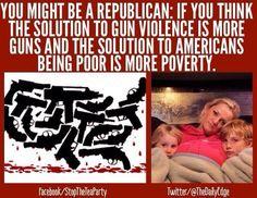 You are Republican...