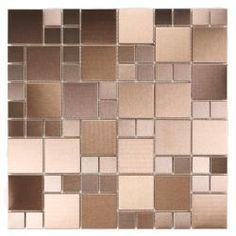 ICL Urban Random Metal Tiles (Pack of 11)