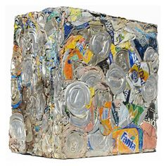 Recycled cans - Objective No. 21 Compressioni / Lattine → Item No. 1