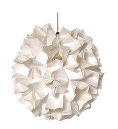 Oragami Aperture Pendant Lamp Shade from Habitat