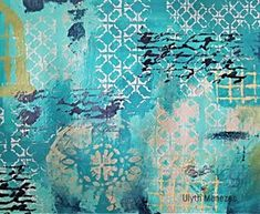 Today creative team member Ulyth Menezes created this beautifully textured piece. Come on over to watch her put this together. Link to blog in profile . . . . #shawnpetite #inspire #collage #stencils #mixedmedia #creativeteam #artjournaling #ulythmenezes #modelingpaste