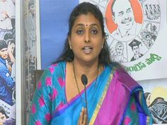 YSRCP MLA Roja: TDP Government is top for wrong reasons  - Read more at: http://ift.tt/1kZSJ2j