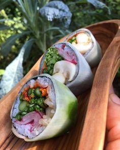 Sushis veganos / Vegan sushi #Gastronomia #food