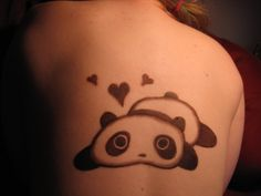I should get a panda tattoo
