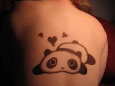 I should get a panda tattoo