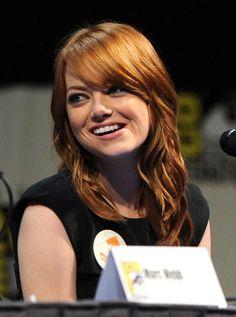 "Emma Stone Photo - ""The Amazing Spider-Man"" Panel - Comic-Con 2011"