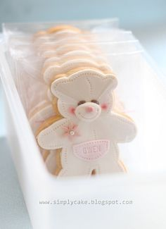 Teddy's Thaby loves this cookies.