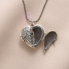 Winged Heart Locket HN5266 $49.95