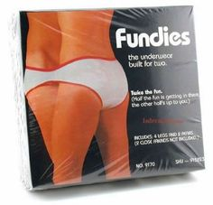 Fundies: underwear for two??...LOL first thought was WTH...who would ever think of this...