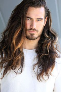 New hair cuts new men 70 Ideas Long Wavy Haircuts, Haircuts For Men, Straight Hairstyles, Cool Hairstyles, Male Long Hairstyles, Long Hair Beard, Wavy Hair Men, Long Hair Cuts, Men Long Hair