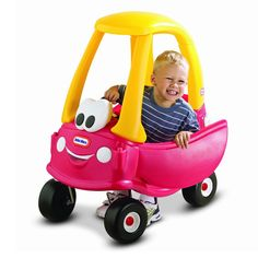 American made baby toys, toddler toys, preschool toys: Little Tikes Cozy Coupe Toys R Us, New Toys, Children's Toys, Little Tikes Outdoor Toys, Toddler Toys, Baby Toys, Toddler Gifts, Baby Gifts, Car Best