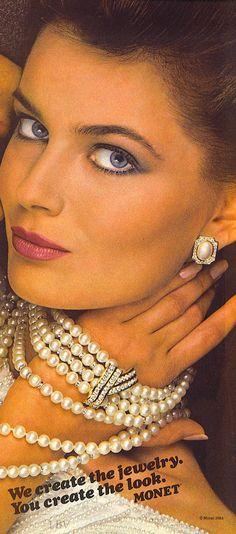 Vintage Pearl Ad - 1984   LBV ♥✤