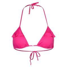 €48, Fuchsia Bikinioberteil von Banana Moon. Online-Shop: Zalando. Klicken Sie hier für mehr Informationen: https://lookastic.com/women/shop_items/271119/redirect