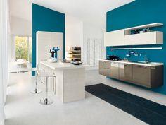 M&R C. - Rencontre un Archi. Cuisine blanche et bleue, penser au ...