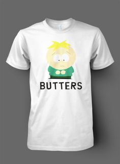 Butters Charector - TShirt - Funny Southpark - High Quality - Unofficial Merch