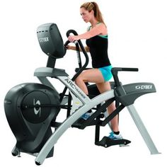 Gym Workouts: Cybex Arc Trainer Cardio Interval Training Plan-Shape Magazine