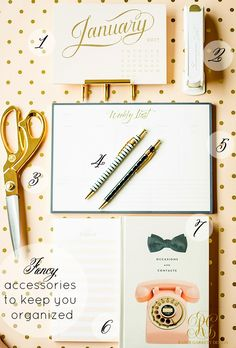 5 Tips for a Fabulous New Year - Tip 2 - Organize Your Day
