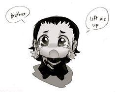 Aww, baby Loki
