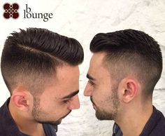 We love this enviably smooth fade and dapper /// Wir lieben diesen Quiff Hairstyles, Mens Hair, Barber Shop, Vienna, Dapper, Smooth, Lounge, Couple Photos, Instagram Posts