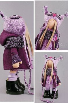 Muñeca buho muñeca Tilda muñeca Interior por AnnKirillartPlace
