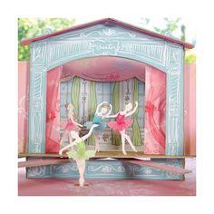 Meri Meri Tischdekoration Centerpiece Ballerina Balletgeburtstag - lohnende Bonuspunkte sammeln, Kauf auf Rechnung, DHL Blitzlieferung!