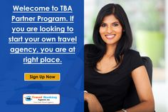 Welecome to TBA Partner Program. If you are looking to start your own travel agency, you are at right place.  know more details visit : http://www.travelbookingagent.in/