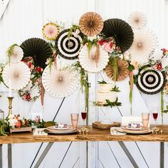 Buy together, get free shipping Pinwheel Decorations, Dinosaur Party Decorations, Paper Fan Decorations, Paper Flower Centerpieces, Floral Wedding Decorations, Baby Shower Decorations, Paper Rosettes, New Years Eve Weddings, Paper Fans
