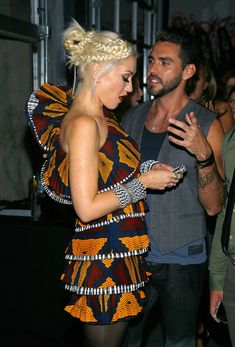 Gwen Stefani Hair....Love her outfit too! @almarichardson or maybe something like this?