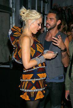 Gwen Stefani Hair....Love her outfit too!