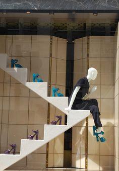 """MIU MIU,London,UK, """"The Simplistic Step"""", pinned by Ton van der Veer"""