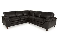 Brazil Leather 2-Piece Sectional from Gardner-White Furniture
