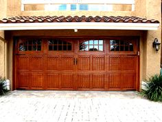 Find This Pin And More On Ga`ridge. Amarr Classica Faux Finished Garage Door  W/Decorative Hardware