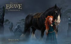 Angus the horse #Brave