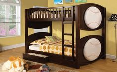 Olympic Ii Novelty Sports Beds w/ Drawers