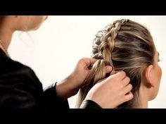 Learn how to do French braid pigtails as well as how to do Heidi braids with the step-by-step instructions in this hair tutorial from Howcast. Reverse French Braids, French Braid Pigtails, French Braid Styles, Reverse Braid, French Braid Hairstyles, Pigtail Braids, Hairdos, Round Hair Brush, Fancy Braids