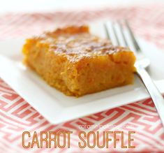 A simple dish that has a warm, custard flavor to really make the carrots pop! It's a little sweet, so it could go perfectly with your brunch or dinner menu. You will love it warm out of the oven, but the leftovers are great right from the fridge, so serve it hot or cold!!